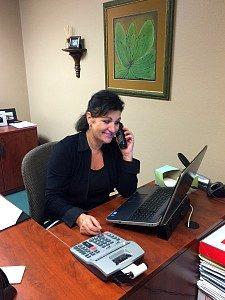 Paula-at-desk